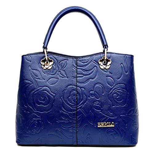 Dame Fashion Trendy Geprägte Mutter Pack Wild Tragbare Diagonale Schultertasche Bestes Geschenk B