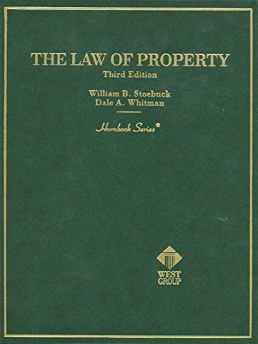 Law of Property, 3d (Hornbook Series)