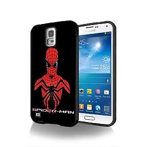 Case Schutzrahmen hülse Spiderman SM02 Abdeckung für Samsung Galaxy S3mini Border Gummi Hartkunststoff Tasche Schwarz