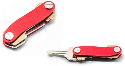 Smart Key CleverKey Compact Pocket Key Holder for Organizing up to 12 Keys and Tools S_Shape By SpiderJuice
