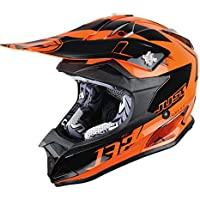 JUST1 casco J32 Pro Kick, color naranja, tamaño M