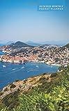 2019-2020 Monthly Pocket Planner: Dubrovnik + Medieval Europe Coastline, Croatia