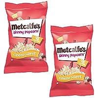 Metcalfe's Palomitas Dulces de Cine 20g Pack de 2