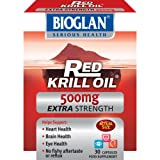 Red Krill Oil 500mg 30 Capsules x 2 Pack Deal Saver