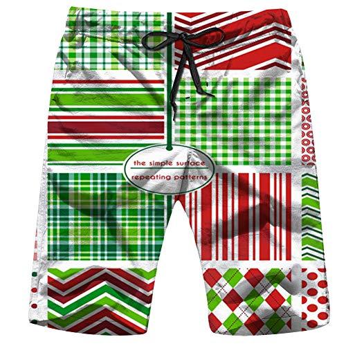 Feng Huang Abeti scandinavi Vacanze Invernali Natale Natura Mens Costumi da Bagno Estate Stampa 3D Grafica Casual Atletico Nuoto Pantaloni Corti XXL
