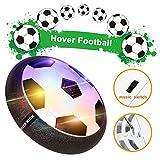 MOZOOSON LED Spielzeug für 1 Jahre Air Power Luftkissen Fußball Indoor Fußball Hover Ball für Kinder
