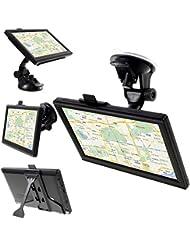 Lemonda®7-inch TFT Berührungsbildschirm 8GB Auto GPS Navigation (718B) CE RoHS Beglaubigung - EU-Stecker