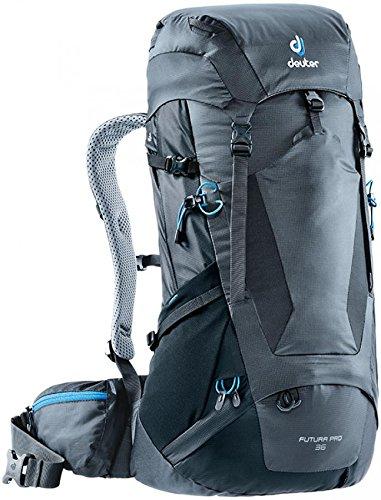 Preisvergleich Produktbild Deuter Unisex-Erwachsene Futura Pro 36 Rucksack,  Grau (Graphite / Black),  24x36x45 cm