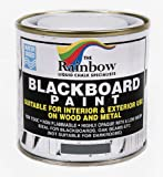 Grey Chalkboard Paint - 250ml Ideal to use with Liquid Chalk and Dry