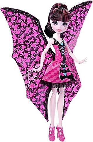 Mattel Monster High DNX65 - Fledermaus Draculaura,