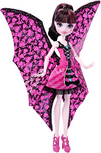 Kostüm Fledermaus High Monster - Monster High DNX65 - Fledermaus Draculaura, Ankleidepuppe