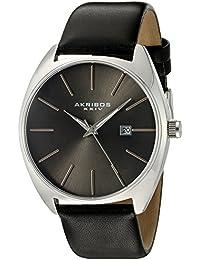 Akribos XXIV Reloj con movimiento cuarzo japonés Man AK945SSBK 43 mm