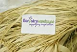 300g Undyed Raffia Bundle - Natural in bag for Gift Wrapping