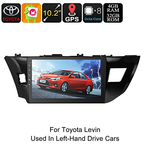 One DIN Car Stereo For Toyota Levin 10.2\