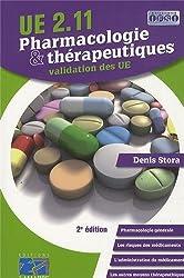 Pharmacologie & thérapeutiques : UE 2.11, validation des UE