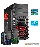 Gaming Aufrüst PC Intel, i7-7700K 4x4.2 GHz, 16GB DDR4, Intel HD Grafik 630 1GB, Spiele Computer zusammengestellt in Deutschland Desktop Rechner