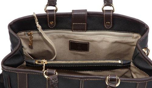 Bogner SWIFT 1113801 Damen Henkeltaschen 32x27x15 cm (B x H x T) Schwarz (black/oak 066)
