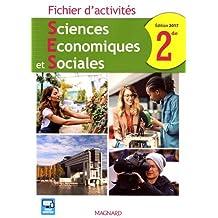 Sciences Economiques et Sociales 2de : Fichier d'activités