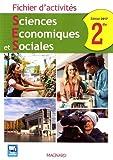 Sciences Economiques et Sociales 2de - Fichier d'activités
