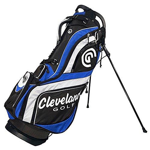 Cleveland Golf Herren CG Tasche mit Ständer, Schwarz/Blau/Weiß (Golf Cleveland Bag)