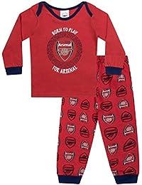b2b9d5e7bda Arsenal FC Official Football Gift Boys Kids Baby Pyjamas
