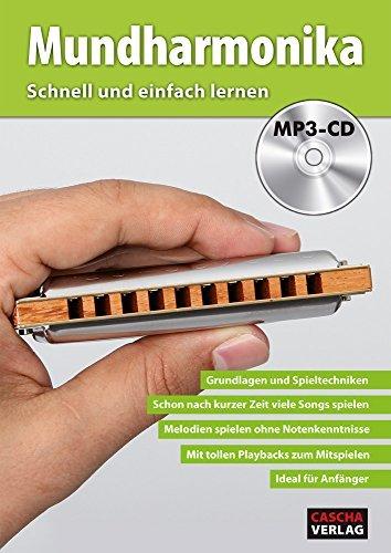 CASCHA Mundharmonika - Schnell und einfach lernen + MP3-CD (2016-01-15)