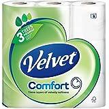 Velours Tissus Triple Couche De Toilette Blanc - 200 Feuilles Par Rouleau (9)