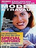 MODES ET TRAVAUX [No 1175] du 01/10/1998 - JEUNES - 8 BONS PLANS POUR DECROCHER UN VRAI JOB - NOS LECTRICES REDACTRICES EN CHEF - LES TENDANCES - LES TRUCS DES PROS - SPECIAL COIFFURES ET COUPES...