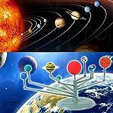 Sonnensystem, Gusspower DIY Pädagogische Simulation Sonnensystem Planetarium Modell Spielzeug Kinder Lernspielzeug Astronomical Learning Science Geologie kits von Gusspower