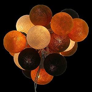 Lichterkette kugeln braun g nstig online kaufen dein - Glasvasen dekorieren mit lichterkette ...