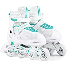 Hop-Sport 3 in 1 Inliner Inlineskates Rollschuhe Quad Dreirad Roller Jugend Erwachsene Farbauswahl Größe: 34-41