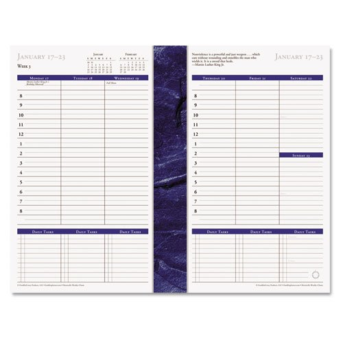 FranklinCovey® Monticello Dated Weekly/Monthly Planner Refill by FranklinCovey®