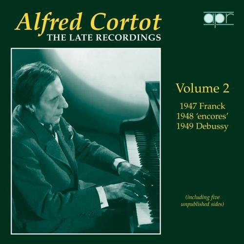 Alfred Cortot: Die späten Aufnahmen Vol.2 - 1948-49