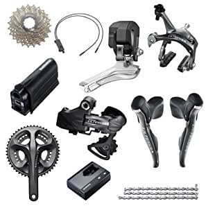 Shimano-Groupe Ultegra Di2 6770 50/34 12/25-Groupes Complets