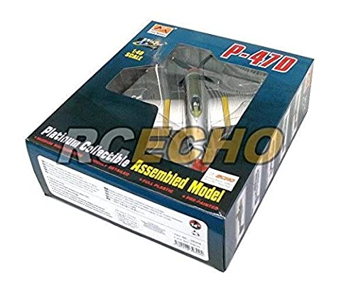 RCECHO® EASY MODEL Aircraft Model 1/48 P-47D Rat Hunter (Finished) 39309 E9309 with RCECHO® Full Version Apps Edition