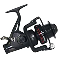 XUEYAN Double Drag Brake System Spinning Fishing Reel Baitrunner Reel 13 + 1 Bearings Left Right Manija Intercambiable para Agua Salada Pesca en Agua Dulce (Tamaño : 3000)
