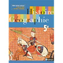 Histoire Geographie Cinquième Speciale Professeur 2005