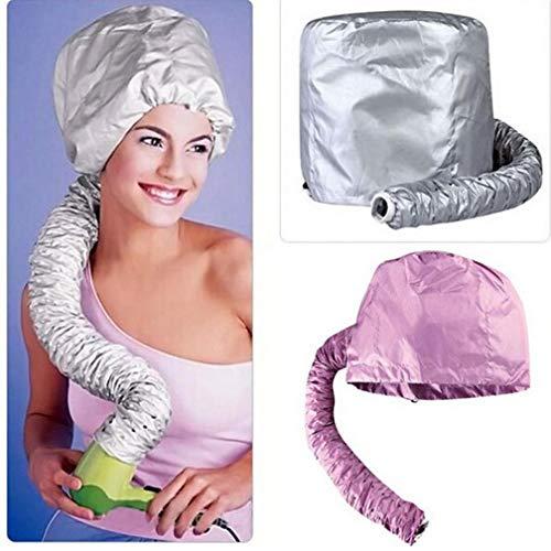 TOSSPER Soft Hood Befestigung Startseite Haarpflege Frauen Friseur Hut Perm Haar Mütze Helmet Friseursalon Beauty Hair Dryer Bonnet Caps - Soft Bonnet Hair Dryer