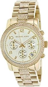 Reloj Michael Kors Runway Mk5826 Mujer Dorado de Michael Kors