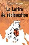 La lettre de réclamation