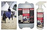 5,5 Liter CleanPrince Pferdedeckenimprägnierung Pferdedecken Imprägnierung Imprägniermittel Nässeschutz für Weidedecke Regendecke Fliegendecke Nierendecke Outdoor atmungsaktiv Einwaschimprägnierung