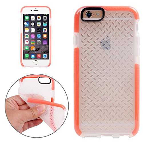 Pour iPhone 6 / 6s, Rice Grains Pattern TPU Housse de protection YAN ( Color : Orange ) Orange