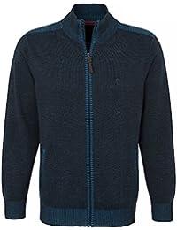 CASAMODA Messieurs Cardigan tricoté 452326500 Coton stretch