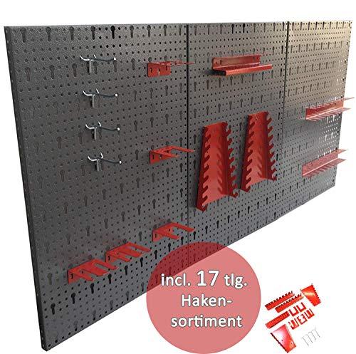 LUX Einfach mit Nadeln in die Wand eintreibbar