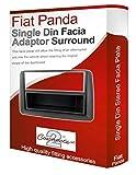 Fiat Panda stereo radio Blende Facia adapter Platte Akzenten CD surround