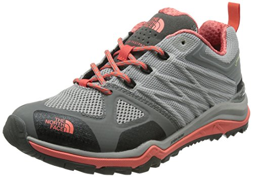 The North Face Damen W Ultra Fastpack Ii Gtx Wanderschuhe Gris (Foil Grey / Radiant Orange)