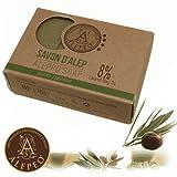 Alepeo Olivenölseife 'Jasmin' 8% Lorbeeröl 100g