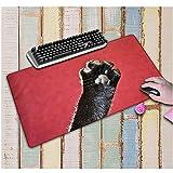 Tappetino per mouse Simpatico modello di artiglio di carne di gatto Tappetino per mouse in versione imbottita Tappetino in gomma per giochi antiscivolo Adatto per Internet Home Office