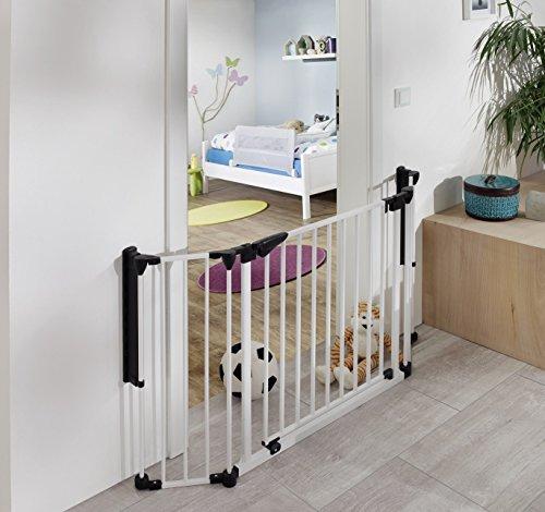 van Hoogen Discovery | novità innovativo | cancelletto di sicurezza per porte | barriera protettiva | divisorio | 80-125 cm | in 2 colori e dimensioni | bambini | cani | sicurezza certificata