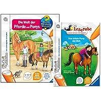 Set tiptoi livre–Le Monde Du Cheval et poney et la tollste Pony du monde